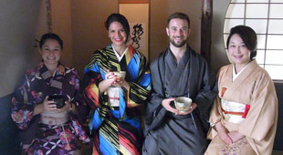 Tea Ceremony & Kimono Fitting Tour